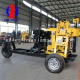 Supply XYX-130 wheeled Small portable full hydraulic water well drilling rig drilling rig / portable digging machines / borehole drilling machine