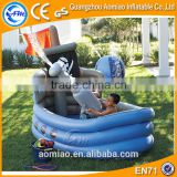 Custom boat shaped pool inflatable deep spa bath pool for kids