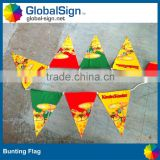 Sublimation Printed Triangle Flags for Events