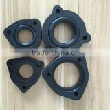 triangle black Bakelite flange