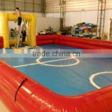 2016 Cheap Inflatable Baby Football field for sale, adults football games,Inflatable football field for outdoor sports