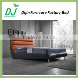 CHEAP PRICES!! TOP SALE leather double bed designs
