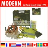 12pc Roadside Car Safety tools set with plastic box