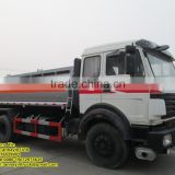 25000L Beiben North Benz 6*4 oil truck oil tank for sale