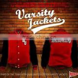 Custom Varsity Jacket/Mens Melton Wool Varsity Jackets Wholesale/Custom Bomber Jacket Wholesale