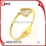 wholesale bangles high quality Gold Color Luxury Bracelet for women