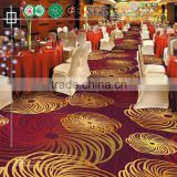 Luxury Printed Hotel Lobby Nylon Carpet Commerical Nylon Printed Carpet