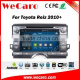 Wecaro WC-TR8032 android 5.1.1 car radio gps for toyota reiz dvd navigation multimedia system WIFI 3G Playstore