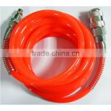 Spiral Polyurethane PU Air Hose with Germany Style Fittings                                                                         Quality Choice