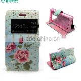 Magnetic Wallet Zipper PU Flip Cover Case with Strap and Credit Card Slot for all mobile phones