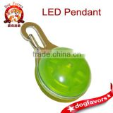 Keychain Light - Super Bright LED, Carabiner, Durable, Green Color, Multiple Mode Blinker, Easily Replaceable Battery