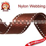 mixed color beads pattern Color bar,nylon reflective and eco-friendly webbing.