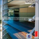 Safe window louvers glass