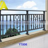 YT-006 2014 Top-selling modern wrought iron balcony railing design                                                                         Quality Choice