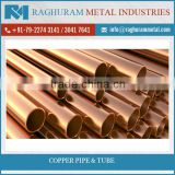 100% Pure Top Grade Copper Pipe and Tube for High Factory use