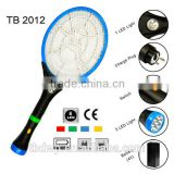 Dongyang TB-2015 mosquito swatter to Indonisia 7 LED light torch electronic bug zapper racket