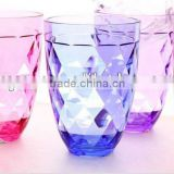 colorful acrylic insertable cups for drinks without handle                                                                         Quality Choice