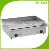 (BN-822B half flat & half grooved plate) Cosbao commercial electric cast iron griddle for restaurant
