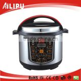 Best Seller!!!! AILIPU 3/4/5/6/8L stainless steel housing electric pressure cooker with ss or aluminium inner pot and steamer