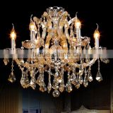 Cozee Maria Theresa LED Crystal Chandeliers Dining Room Coloured Glass Chandelier Hanging Pendant Lamp Lighting CZ6020/6