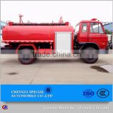 Water sprayer fire engine truck with water cannon water tank