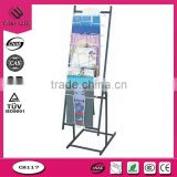 POS Hook corrugated peg board displays, cardboard display shelf, cardboard promotional display shelf