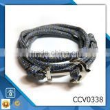 diamante anchor bracelet fashion bracelet rope anchor bracelet leather bracelet metal anchor