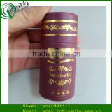 golden hot stamping recycled small paper tubes, round cosmetic paper core tube, paper cardboard tubes