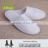 Newarea hot sale disposable hotel room slippers PET same price as PVC