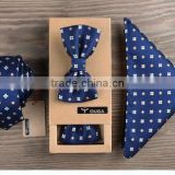 British style high-end gift box of imported all-match Mens business suits Metrosexual tie tie set