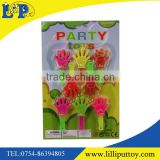 High quality small plastic hand clapper 12pcs