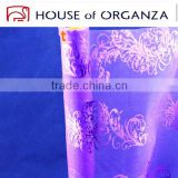 2014 High Quality Bronzing Organza With 100%Nylon