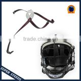 chin strap with soft PU cup for safety american football helmet
