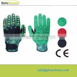 High Performance Impact Protection Safety Working Gloves ( factory)