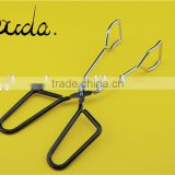 Best sell Bouda kitchen and BBQ grill tong scissors tong BD-K9016