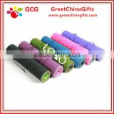 Eco-friendly custom full color silkscreen NBR yoga mat with bag                                                                                                         Supplier's Choice