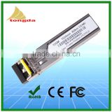 155M; 20km; Optical Transceiver; SFP BIDI; 1310nm / 1550nm; 1 pair; Fiber Optic SFP Transceiver