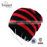 wholesale custom high quality embroider winter polar fleece beanie hat
