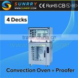 Electric Commercial Convection Oven 4 Trays Convection Microwave Oven For CE (SY-CNV4D SUNRRY)