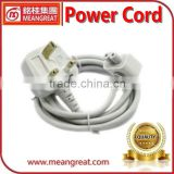New Version UK Plug Extension Power Cable for Apple Adapter