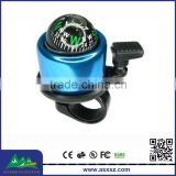wholesale Alloy Bicycle Bells Colorful Bike Warning bells with compass
