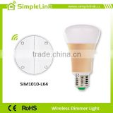 Home automation wireless dimmer zigbee light bulb