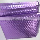 Customized wholesale metallic purple cheap bubble envelopes