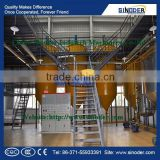 SINODER Edible Cooking Oil Refinery Plant corn oil machinery oil refinery palm crude oil fractionation plant
