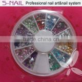hot sell fashionable nail art accessory/triangle stone wholesale