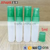 5ml plastic perfume atomizer yuyao mini travel refillable cosmetic or medical bottle perfume pen spray