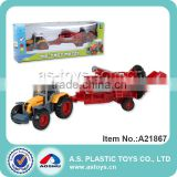 novelty new kids farm set metal truck toy 1:72