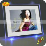 Factory wholesale battery operated digital photo frame support music video and OEM muti-functional bulk digital photo frame