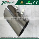 Mica band heater for screw barrel