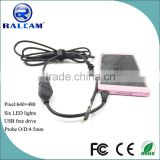 Factory supply 0.3 megapixel cmos sensor mini endoscope usb camera module otg android
